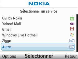 Nokia C3-00 - E-mail - Configuration manuelle - Étape 5