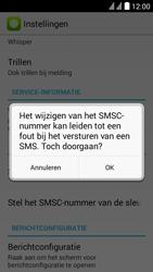 Huawei Y625 - SMS - handmatig instellen - Stap 7