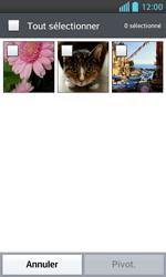 LG Optimus L5 II - Photos, vidéos, musique - Envoyer une photo via Bluetooth - Étape 6