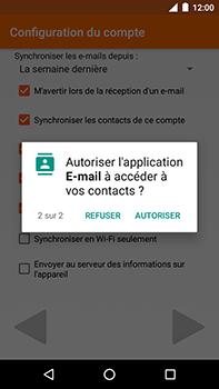 Motorola Moto E4 Plus - E-mails - Ajouter ou modifier votre compte Outlook - Étape 12