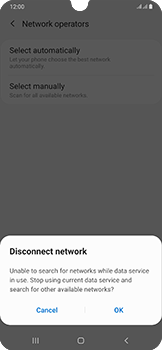 Samsung Galaxy A50 - Network - Manually select a network - Step 9
