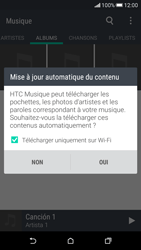 HTC Desire 626 - Photos, vidéos, musique - Ecouter de la musique - Étape 5