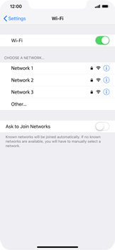 Apple iPhone XS Max - Wi-Fi - Connect to Wi-Fi network - Step 5