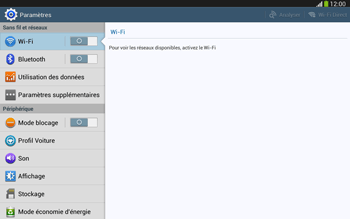 Samsung P5220 Galaxy Tab 3 10-1 LTE - Internet - configuration manuelle - Étape 5