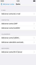 Apple iPhone 6 iOS 9 - Email - Configurar a conta de Email -  7