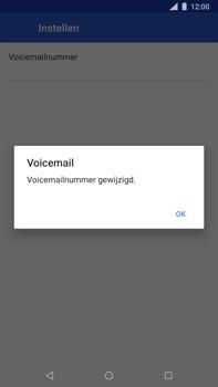 Nokia 8 Sirocco - Voicemail - Handmatig instellen - Stap 11