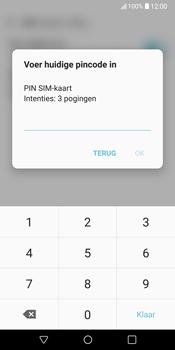 LG V30 (LG-H930) - Beveiliging en ouderlijk toezicht - Hoe wijzig ik mijn SIM PIN-code - Stap 8