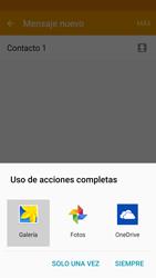 Samsung Galaxy S6 - Mensajería - Escribir y enviar un mensaje multimedia - Paso 19