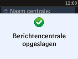 Nokia Asha 302 - SMS - Handmatig instellen - Stap 9