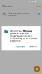 Samsung Galaxy S7 - Mensajería - Escribir y enviar un mensaje multimedia - Paso 5