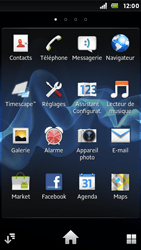 Sony ST25i Xperia U - Wifi - configuration manuelle - Étape 2