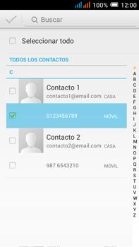Alcatel Pop C9 - Mensajería - Escribir y enviar un mensaje multimedia - Paso 7