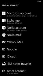 Nokia Lumia 830 - Email - Manual configuration - Step 6