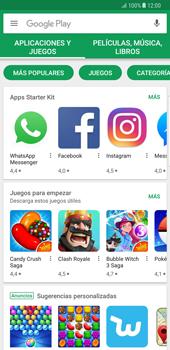 Samsung Galaxy Note 8 - Aplicaciones - Tienda de aplicaciones - Paso 16
