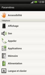 HTC T320e One V - Messagerie vocale - Configuration manuelle - Étape 4