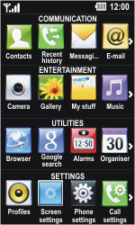 LG GD510 Pop - Internet - Manual configuration - Step 3