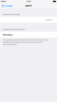 Apple Apple iPhone 6 Plus iOS 10 - E-mail - Configuration manuelle - Étape 21