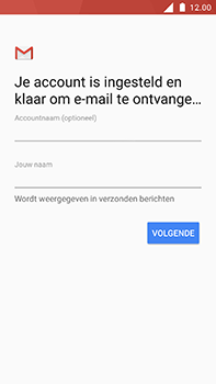 Nokia 6 - E-mail - Account instellen (POP3 zonder SMTP-verificatie) - Stap 20