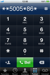 Apple iPhone 4 - Voicemail - Handmatig instellen - Stap 6