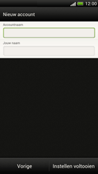 HTC Z520e One S - E-mail - Handmatig instellen - Stap 16