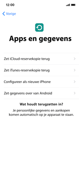 Apple iPhone X - Toestel - Toestel activeren - Stap 15