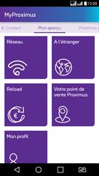 LG K8 - Applications - MyProximus - Étape 19