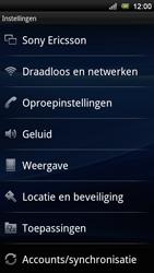 Sony Ericsson Xperia Neo V - Wifi - handmatig instellen - Stap 4