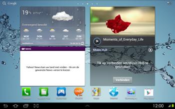 Samsung P5100 Galaxy Tab 2 10-1 - Bluetooth - koppelen met ander apparaat - Stap 1