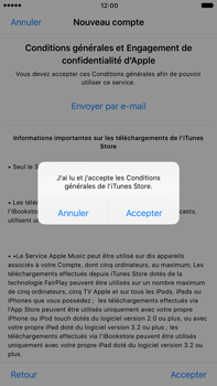 Apple Apple iPhone 6 Plus iOS 10 - Applications - Créer un compte - Étape 11