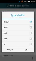 Huawei Y3 - Internet - Configuration manuelle - Étape 13