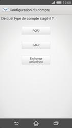 Sony Xperia Z2 (D6503) - E-mail - Configuration manuelle - Étape 7