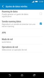 HTC One M8 - Mensajería - Configurar el equipo para mensajes multimedia - Paso 5