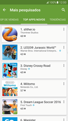 Samsung Galaxy S7 Edge - Aplicativos - Como baixar aplicativos - Etapa 11