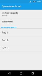 Sony Xperia M5 (E5603) - Red - Seleccionar una red - Paso 10