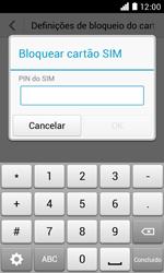 NOS LUNO - Segurança - Como ativar o código PIN do cartão de telemóvel -  7