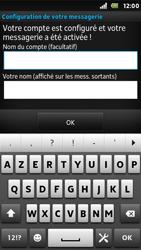 Sony ST25i Xperia U - E-mail - Configuration manuelle - Étape 17