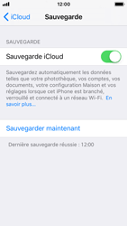 Apple iPhone SE - iOS 11 - Device maintenance - Back up - Étape 16