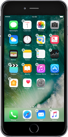 Apple Apple iPhone 6 Plus iOS 10 - iOS features - iOS 10 Feature list - Step 7