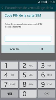 Samsung Galaxy Note 4 - Sécuriser votre mobile - Personnaliser le code PIN de votre carte SIM - Étape 9