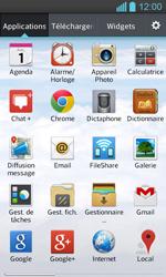 LG P710 Optimus L7 II - E-mail - Configurer l