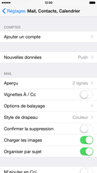 Apple iPhone 6 - E-mail - Configuration manuelle - Étape 5