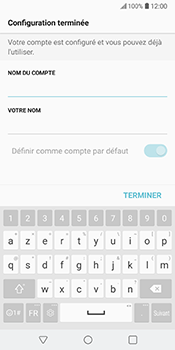 LG V30 - E-mail - Configuration manuelle - Étape 20
