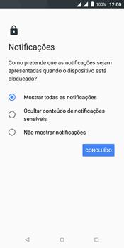 Wiko View Dual SIM - Segurança - Como ativar o código de bloqueio do ecrã -  11