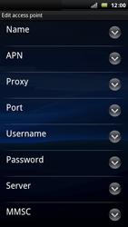 Sony Ericsson Xperia Play - Internet - Manual configuration - Step 9