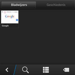 BlackBerry Q5 - Internet - hoe te internetten - Stap 8