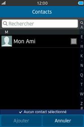Samsung Wave M - Contact, Appels, SMS/MMS - Envoyer un SMS - Étape 5