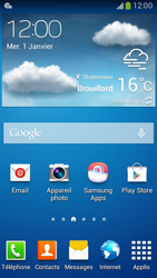 Samsung G386F Galaxy Core LTE - MMS - configuration automatique - Étape 5