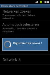 Samsung S5690 Galaxy Xcover - Netwerk - Gebruik in het buitenland - Stap 9