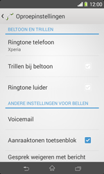 Sony Xperia E1 (D2005) - Voicemail - Handmatig instellen - Stap 5