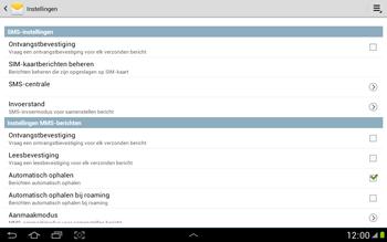 Samsung N8000 Galaxy Note 10-1 - SMS - Handmatig instellen - Stap 5